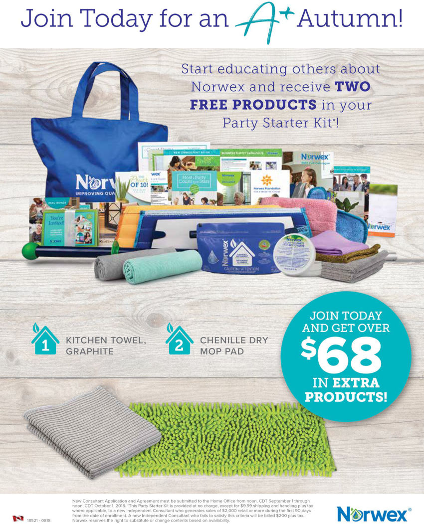 Join Norwex Free Kit