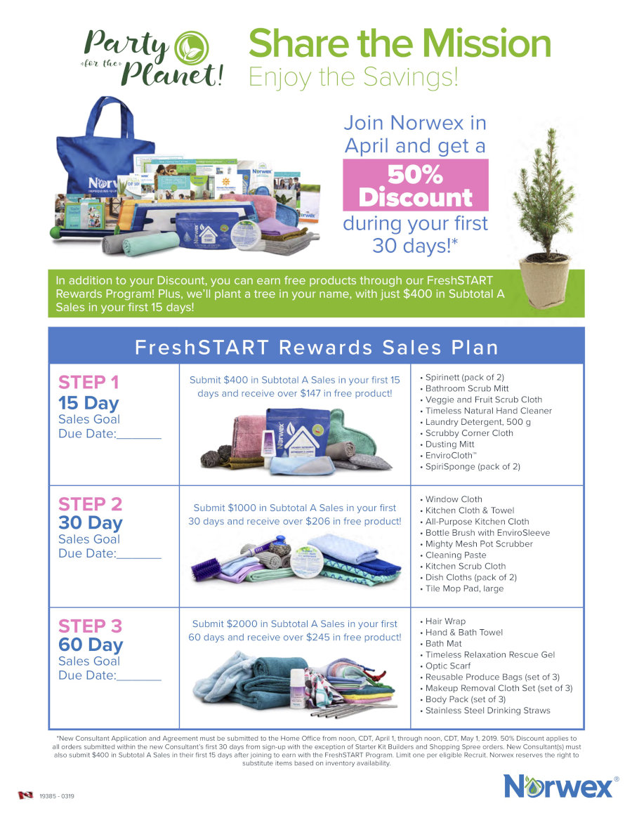 Norwex Sign Up