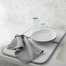 Norwex Dish Mat Grey or Mushroom