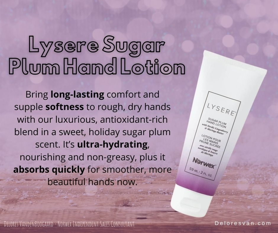 Norwex Sugar Plum Hand Lotion