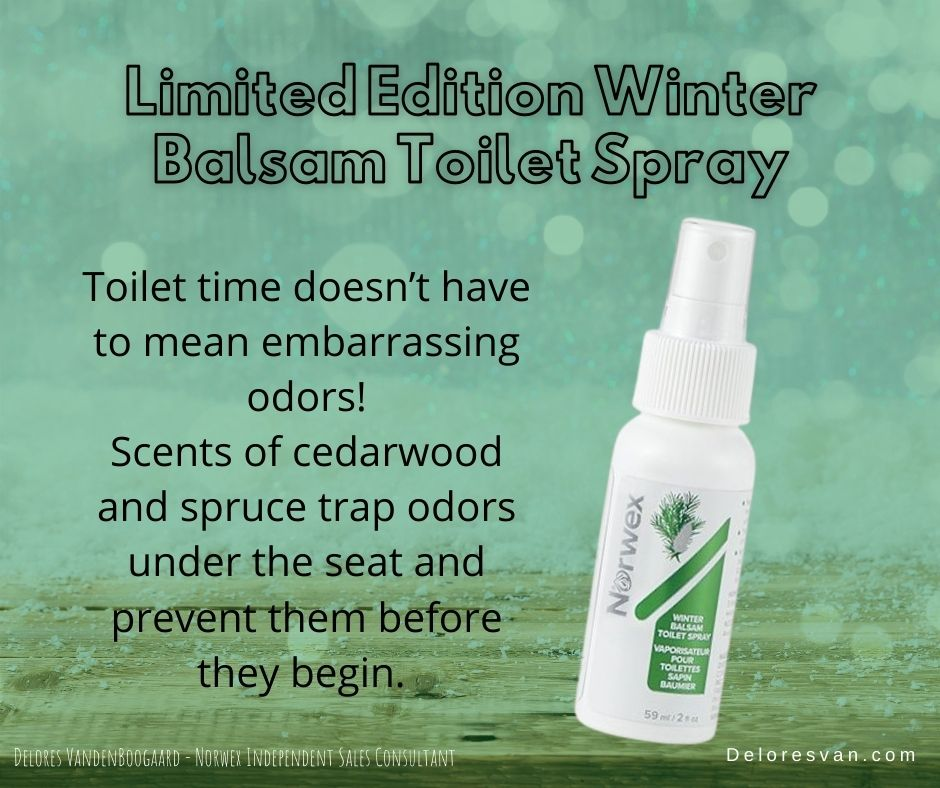 Norwex Balsam toilet spray