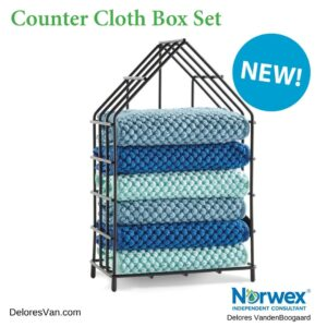 New Norwex Counter Cloths